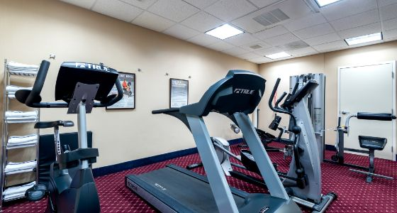 Lathrop CA Holiday Inn Express, Fitness Center